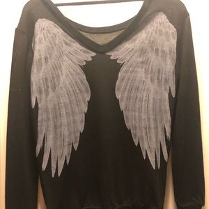 Angel Wing Top